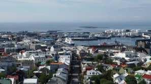Views of Reykjavik from the Hallgrimskirkja