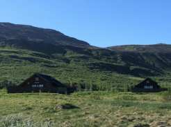Staying in cabin in the countryside of Iceland