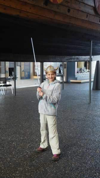 Visiting the Vikingworld Museum