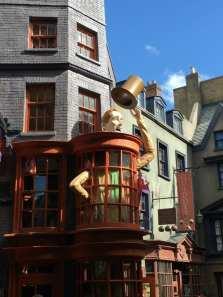 Weasleys Wizard Wheezes in Diagon Alley in Universal Studios