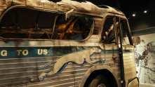 Freedom rides burned bus