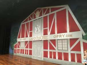Ryman Auditorium barn
