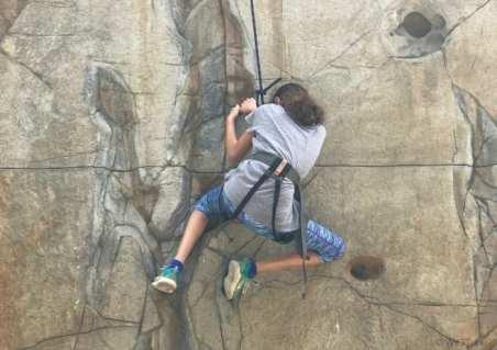 Copper Mountain rock climbing