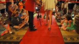 Peabody memphis ducks on red carpet
