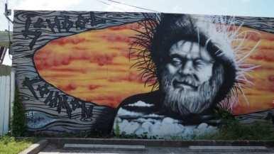 Carolina beach street art