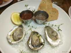 Pinpoint Wilmington oysters