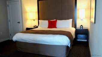 Loews suite bedroom