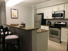 Hyatt Clearwater beach suite kitchen