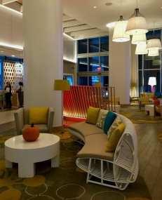 Wyndham Grand Clearwater Beach lobby
