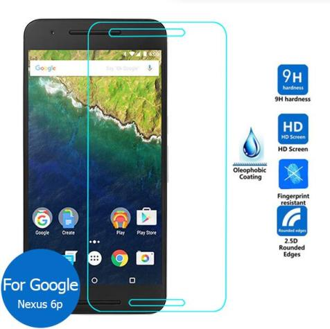 google nexus 6P tempered glass screen protector