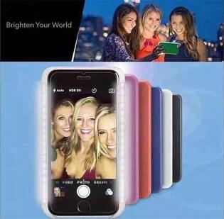 iphone 6 selfie LED case_14