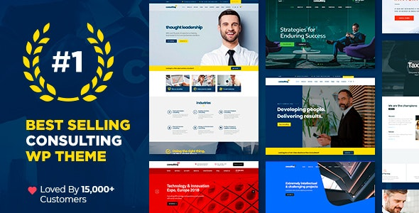 Consulting 6.1.4 Nulled – Business, Finance WordPress Theme