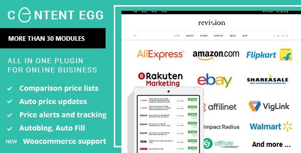 Content Egg 9.0.1 Nulled – All In One Plugin For Affiliate