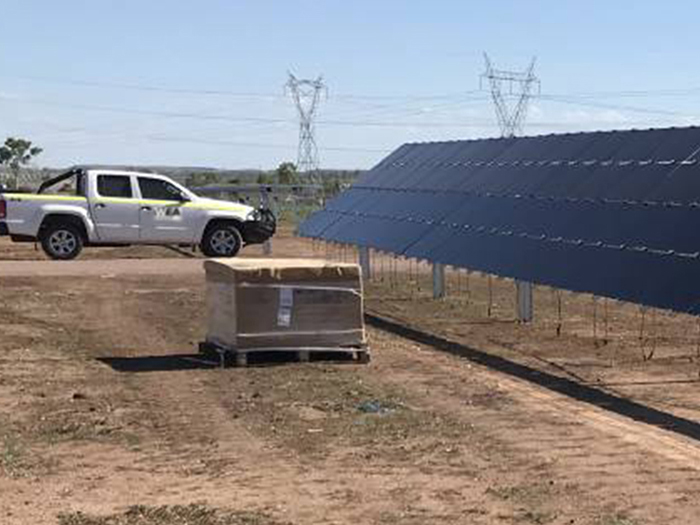 WEA Ute at Solar farm