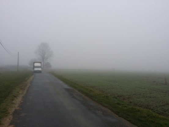 Bit of fog you would say.