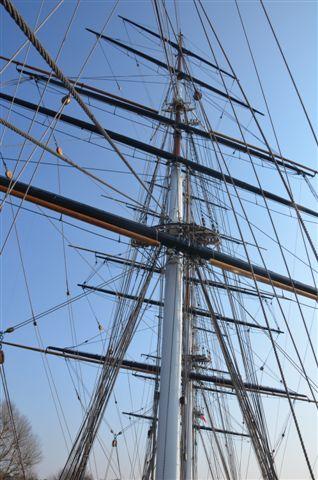cutty sark main mast