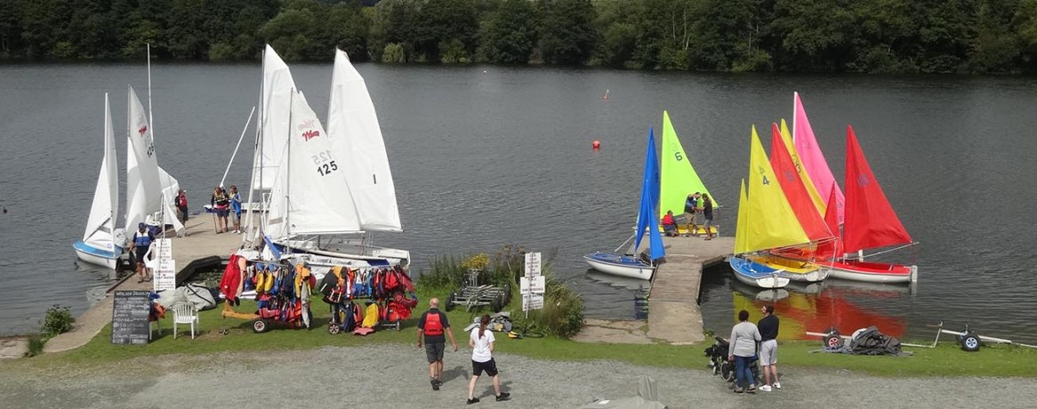 WS Race 4 9 Fleet at rest