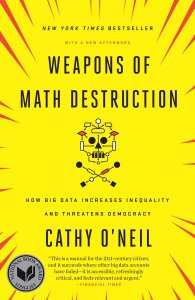 Weapons of Math Destruction book cover