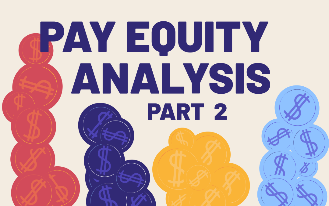 Pay Equity Analysis Part 2: Defining Job Categories