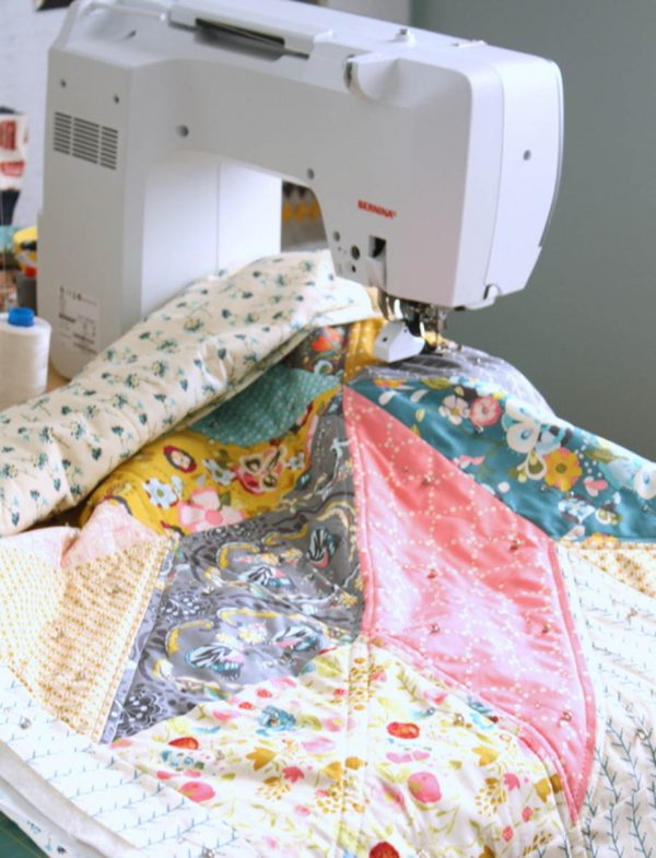 Lone Star Baby Quilt Quilt-Along Part II-Finished Quilt with BERNINA 710