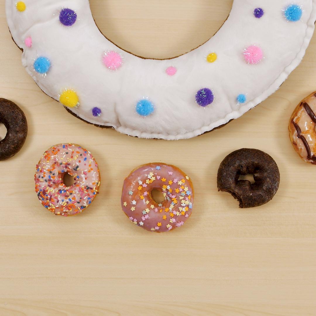 diy donut pillow weallsew
