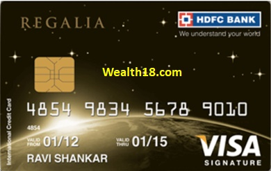 Hdfc regalia card forex charges