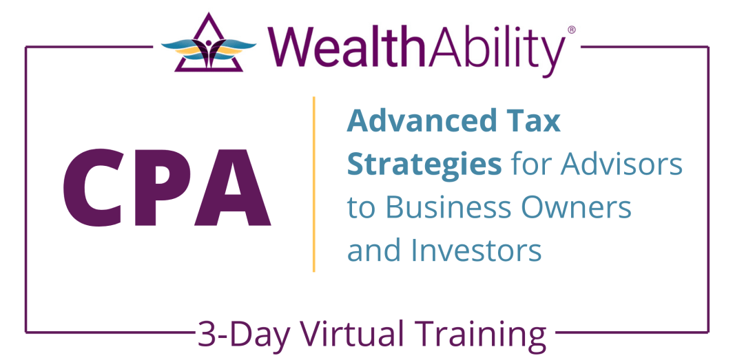 Cpa Advanced Tax Strategies