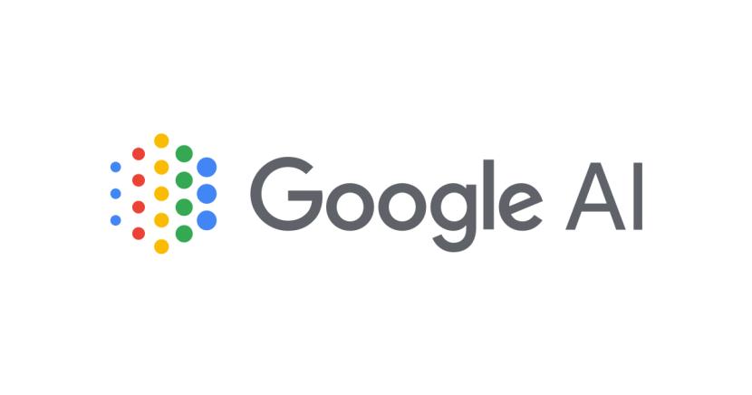 Google AI logo on white backround