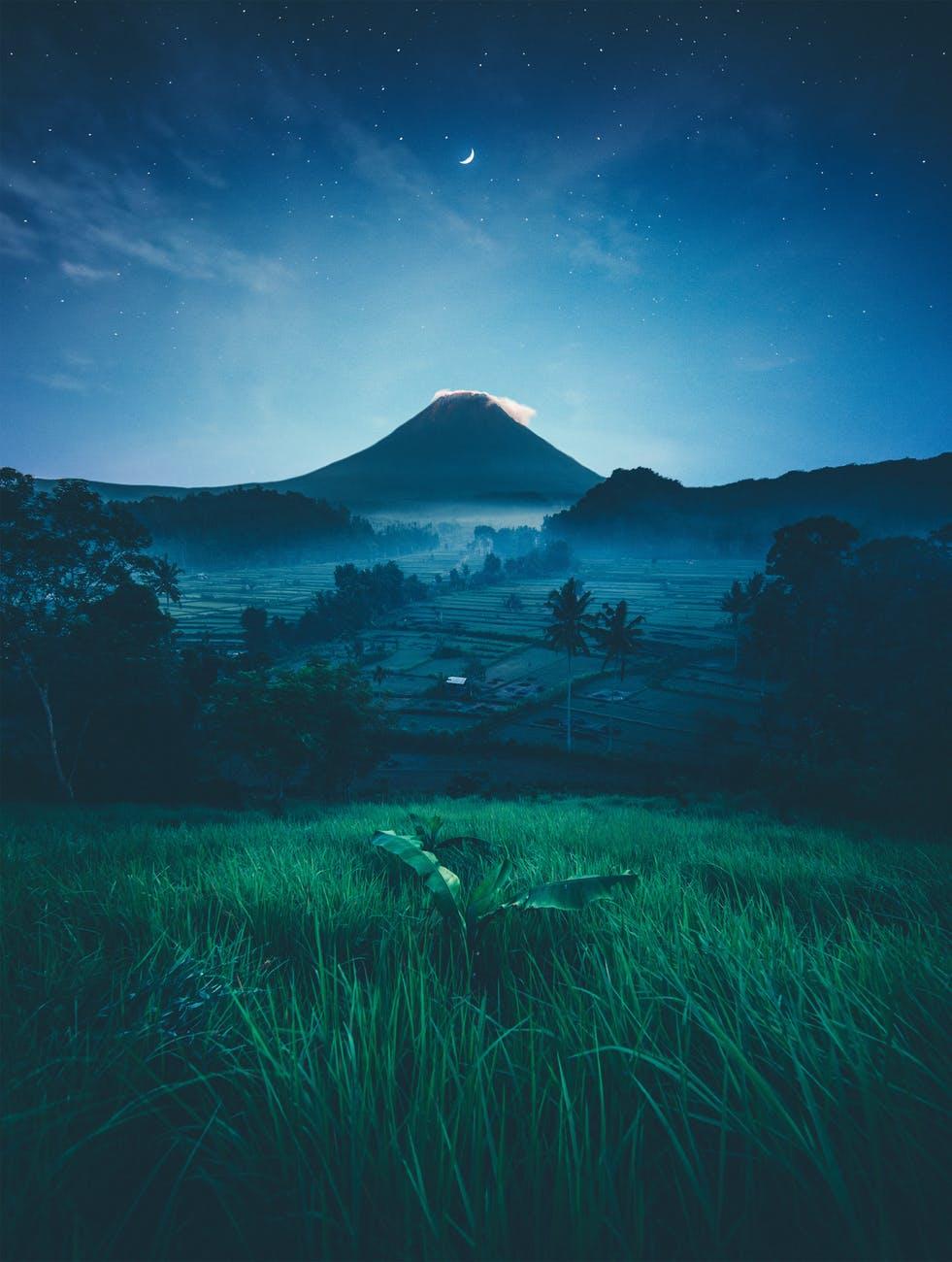 cropland duiring night time