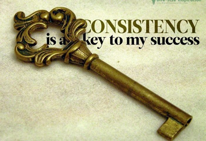 consistency the power of wealth building