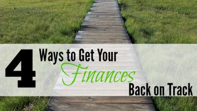 Every body loses sight of their financial goals at one point or another. Here are 4 ways to help you refocus and get your finances back on track.