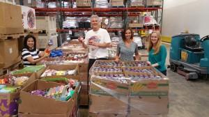 Staff at Food Bank June 2015
