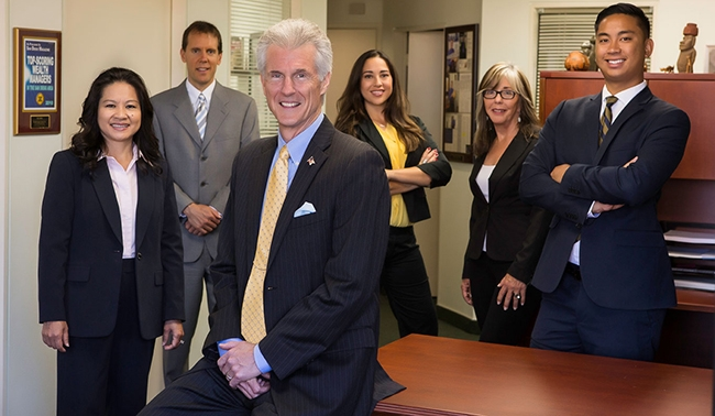 A picture of a San Diego Investment advisor firm team