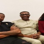 Marriage counselling or prayers? Bambam and Teddy A meet popular Lagos pastor
