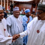 Photos from President Buhari's meeting with the 36 State Governors at the state house