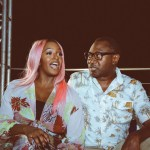 Aliko Dangote, Femi Otedola, Di'Ja turn up for DJ Cuppy's Cactus on the Roof Party