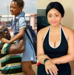 Nollywood actress, Regina Daniels shares her childhood photo to prove that she's just '16-years old'