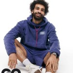 African best footballer Mohamed Salah covers GQ Magazine (Photos)