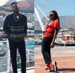 Simi and Adekunle Gold's in South Africa for Honeymoon { Photo}