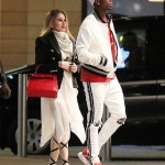 Paul Pogba makes outing with his  girlfriend Maria Salaues after welcoming their first child (Photos)