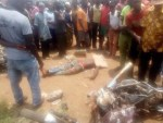 3 Persons Dead as  Trailer Driver lost Control and Rammed Into Market in Anambra