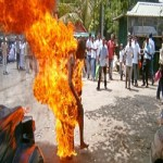 Man sets self ablaze in Ebonyi  State, Out Of frustration