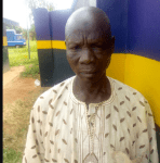 A 65 year Old Man  arrested by Men of the Ogun state Police Command for defiling 10 years old girl