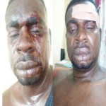 See How Veteran musician, Baba Fryo was humiliated by unknown soldiers' (Photos)