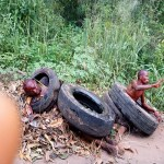 Thieves stripped naked and lynched by mob in Imo state (Photo)