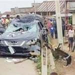Fatal Accident !!!  4 Years old boy crushed to death inside his parents' compound by a car in Lagos State (Photo)