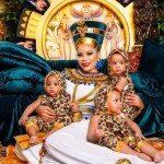 Femi Fani-Kayode FFK's wife, Precious and triplet sons Celebrate their birthdays with lovely new photos