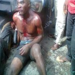 Man set ablaze, two brutally beaten by Irate Mob for Allegedly kidnapping a child  in Bayelsa(photos)