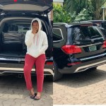 Regina Daniels Adds New Mercedes GL450 SUV To Her Collection (Photo)