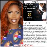 Mavin Records Pray For Tiwa Savage As They Part Ways After 7 Years